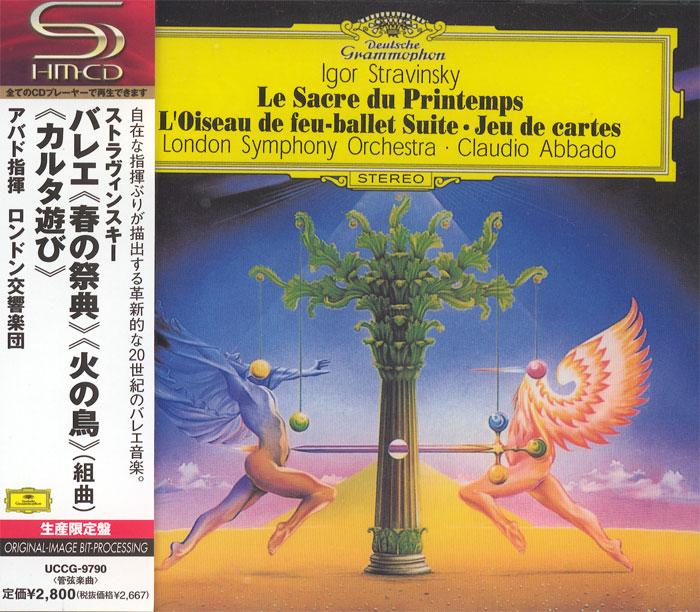 Le Sacre du Printemps / L'Oiseau de feu / Jeu de cartes